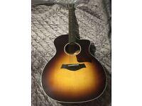 Taylor 214ce dlx Electro Acoustic Guitar + Hard Case