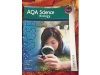 Aqa science biology book for sale!