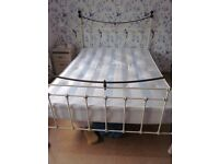 Lora Ashley Double bed frame.