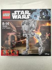 Lego Star Wars AT-ST Walker Building Set