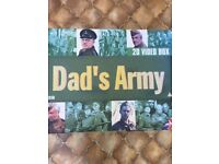 VINTAGE DAD'S ARMY VHS BOX SET 1968 - 1977, used for sale  Downend, Bristol