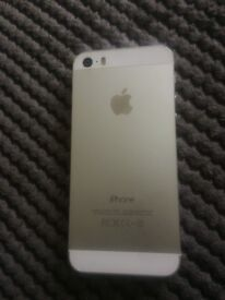 iphone5s silver mint conditiBon 16G