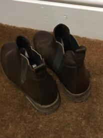 Clark's brown boots - Womens - Size 6