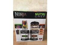Nutri Bullet Ninja Blender + Nutri Chef food processor