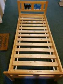 Toddler bed frame 160-70cm