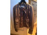 Leather Karen Millen jacket