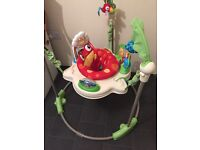Fisher Price Rainforest Jumperoo, with original box.