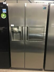SAMSUNG RS7677FHCSL American-Style Fridge Freezer - Stainless St