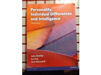 Personality, Invividual differences and Intelligence, Third Edition, John Maltby, Second Hand