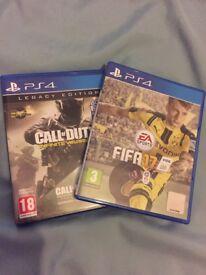 FIFA 17 & CoD: Infinite Warfare PS4