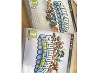 Two Skylander PS3 games
