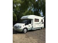 Ford transit custom built motorhome/ 4 berth /fixed bed
