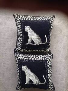 6 Cushions Versace and Leopards Neutral Bay North Sydney Area Preview