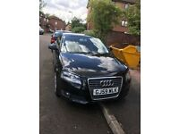 Audi A3 1.9 TDI red leather