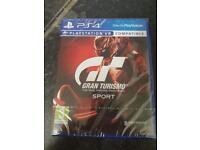PS4 Gran turismo sport BRAND NEW SEALED