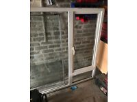 Large PVC window