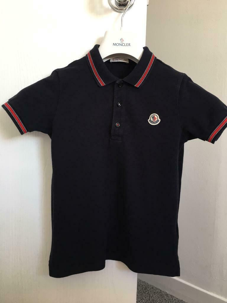 5abdf2fbe Moncler. Genuine Moncler Polo aged 10 years