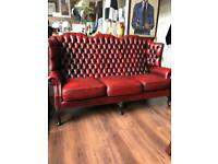 Chesterfield 3 Seater Sofa & Armchair