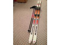 Blizzard Absorber Thermo V20 skis, Tyrolla bindings, R30 200cm plus ski poles