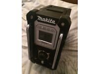 Makita site radio perfect working order