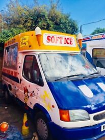 ice cream van Ford transit 100 Swb in good condition