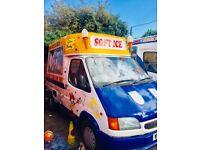 ice cream van Ford transit 100 Swb in good condition
