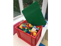 Duplo Lego Bundle approx 500 pcs