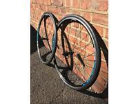 Shimano R500 complete wheelset