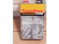 Sandtex Clear Stabilising Solution (Solvent Borne) 5LT Brand New
