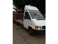 vw LT35 recovery truck ,LWB,2.8tdi 15ft bed ,125bhp,186k spare or repairs head gasket gone