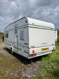 Caravan Compass rallye 460/2 gte
