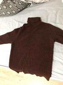 roll collar jumper for sale