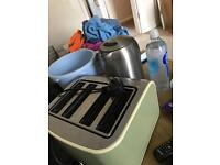 Kettle and toaster both for £10