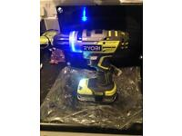Ryobi brushless one+ cordless drill new