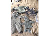 Baby Boy Clothes bundle - Premature (5lb) & Tiny Baby (6/7lb)