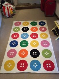 Button rug - As seen in Ikea