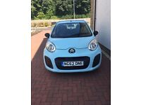 Baby Blue Citroen C1 VT for sale (private), 32280 miles, 1 owner, MOT, Immaculate condition
