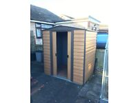 Woodvale 6' x 5' Apex Metal Shed.