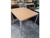 Beech effect Office meeting table office side table hardly been used
