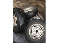 Ford transit wheels 205 75 r16c 215 75 r16c