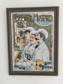 Retro Colmans Mustard Picture