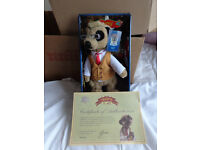 Compare the Meerkat Yakov toy in box - With certificate - Only £5