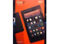 Amazon 7 fire tablet with Alexa