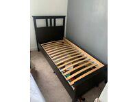Black IKEA Single Bedframe
