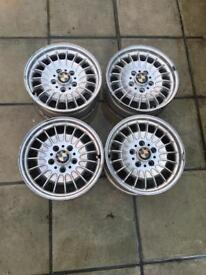 4 Alloy wheels of my 1985 BMW 735se