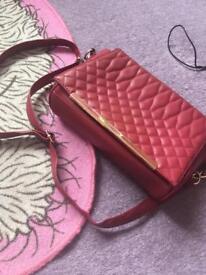 Dark red bag for sale