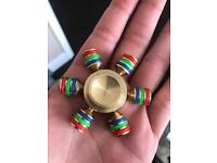 BRASS Fidget Spinners - will last a lifetime!!!!