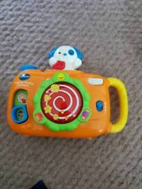 Kids camera and torch