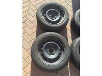 4 x Goodyear Winter Tyres