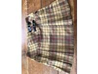 Mini skirt wool size 14